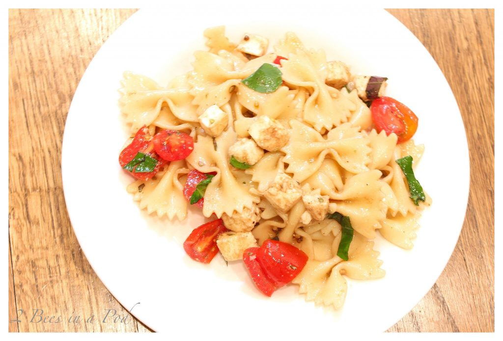 Caprese Pasta Salad - perfect dish for summer or a picnic