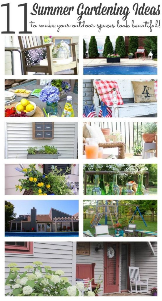 ummer front porch trour and Outdoor garden Tour groupS