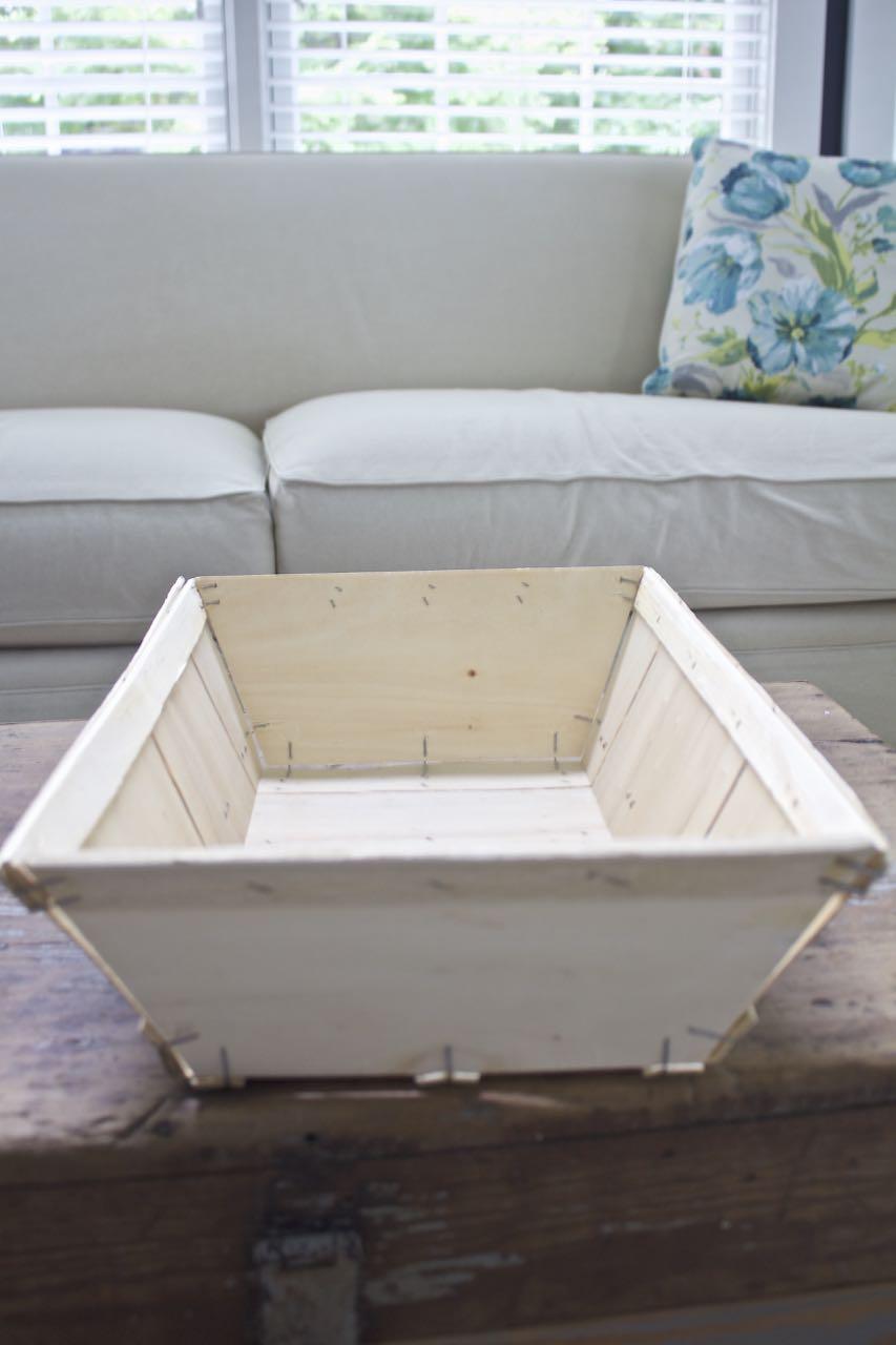 DIY Aged Market Basket