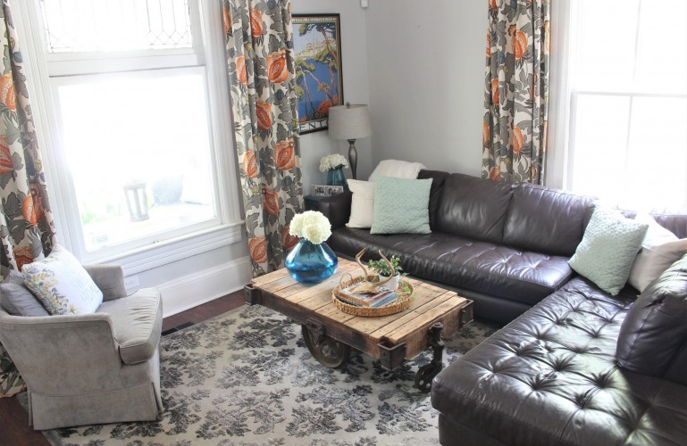 Living room decor room by room summer series