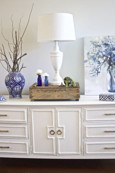 Painted Sideboard Buffet for the Dining Room