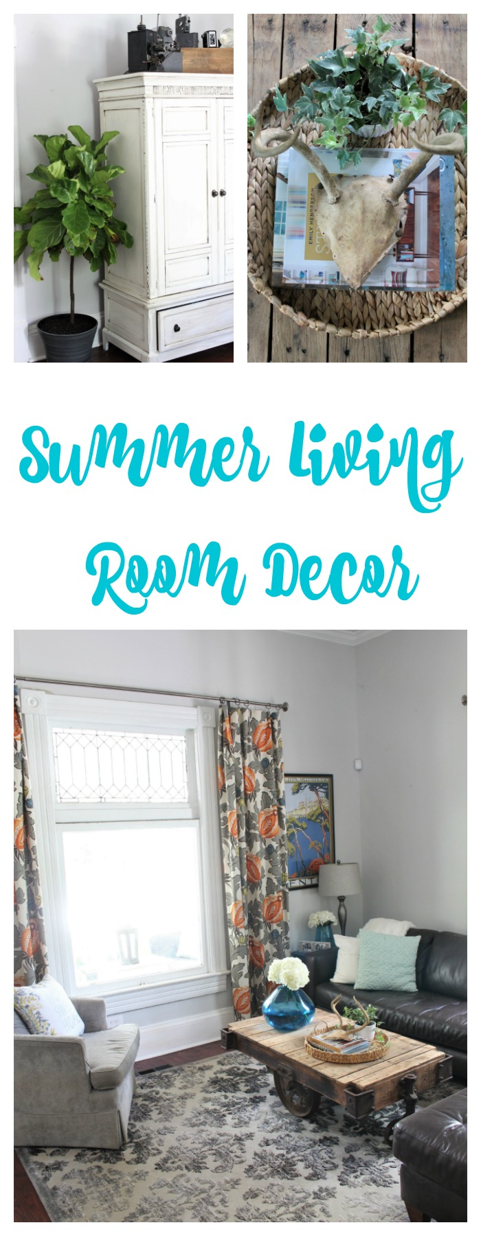 Summer Living Room Decor