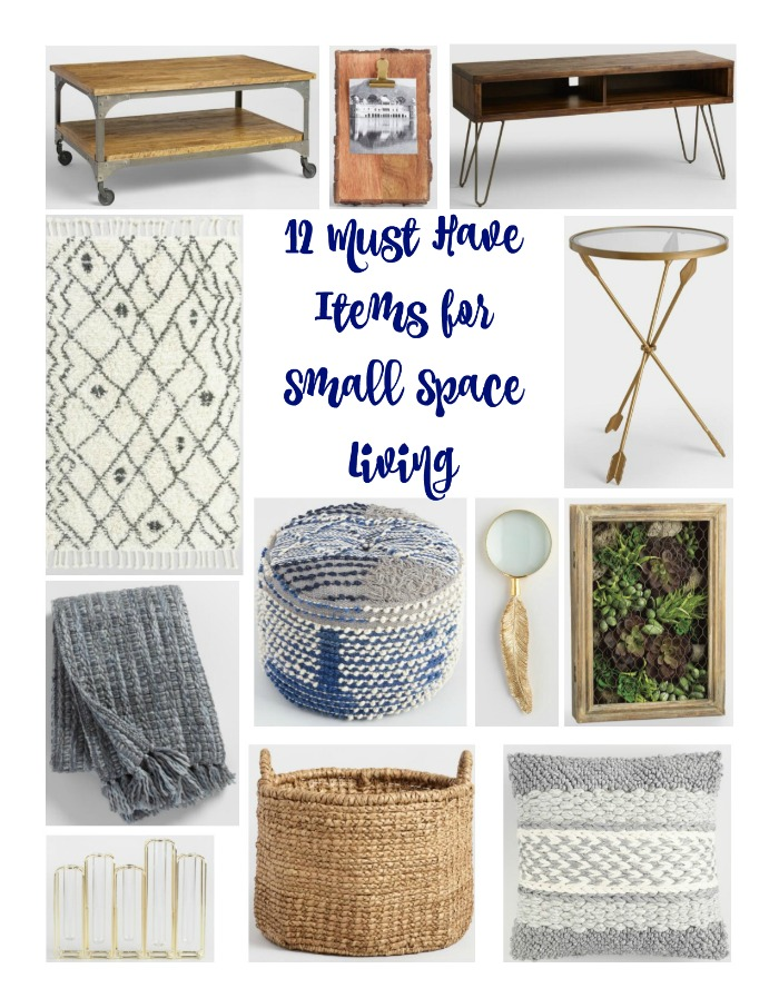 12 Must Have Items For Small Space Living
