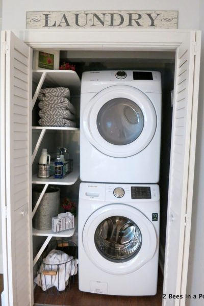 Small Laundry Room Ideas – Room by Room Summer Series