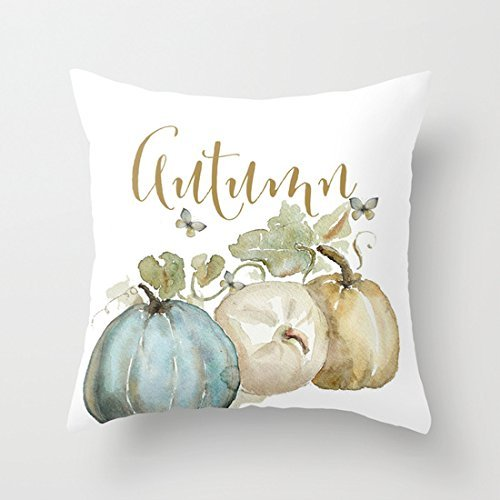 Fall pillow covers on a budget