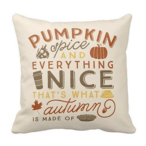 Decorative pillow covers for fall