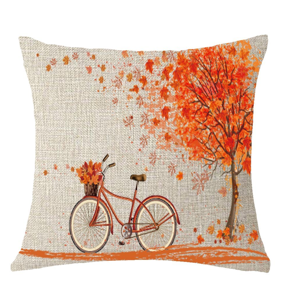 Autumn pillow cover