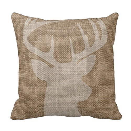Antler pillow cover for Fall
