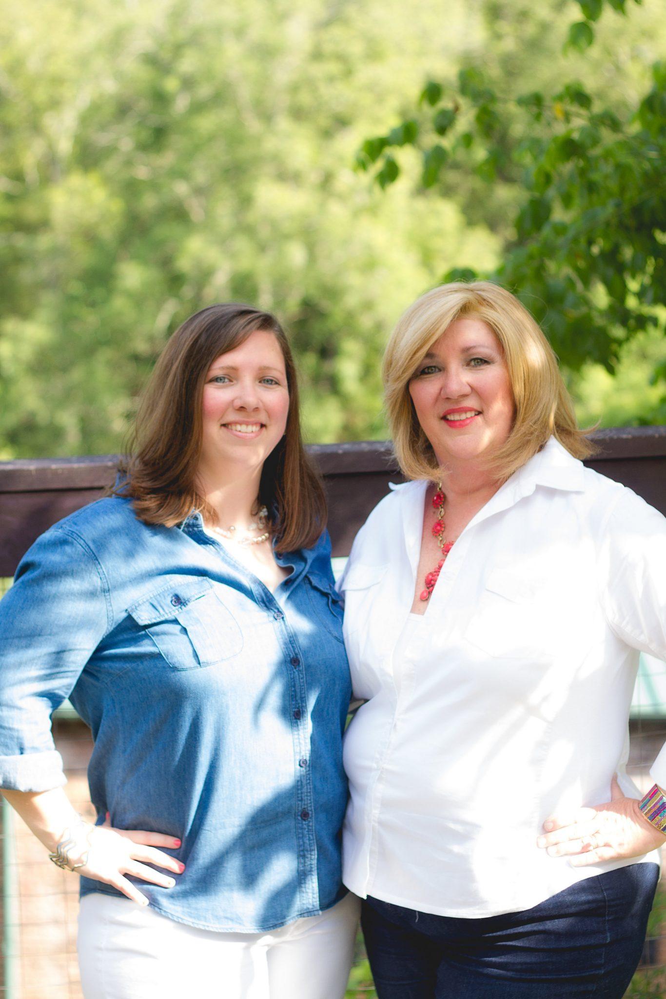 Jenn and Vicki