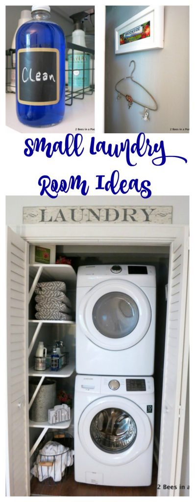 Solutions for small laundry rooms