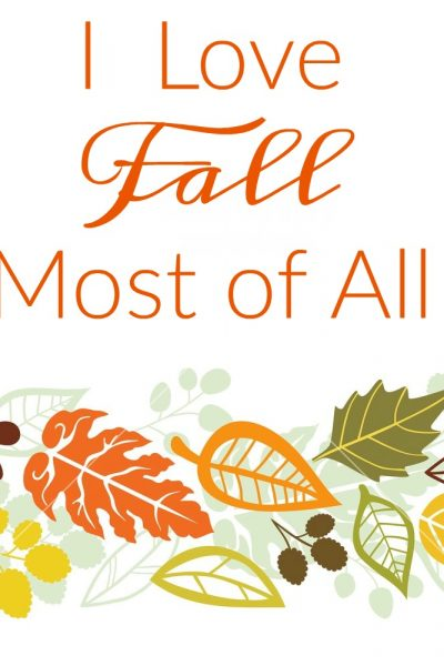 Free Fall Printable and Our New Site