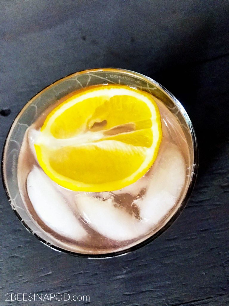 end of summer cocktail for she shed entertaining