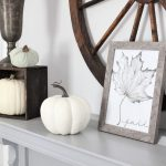 Fall printable and decor