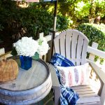 Fall Front Porch Gathering