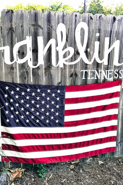 Girl's Weekend Getaway in Franklin TN