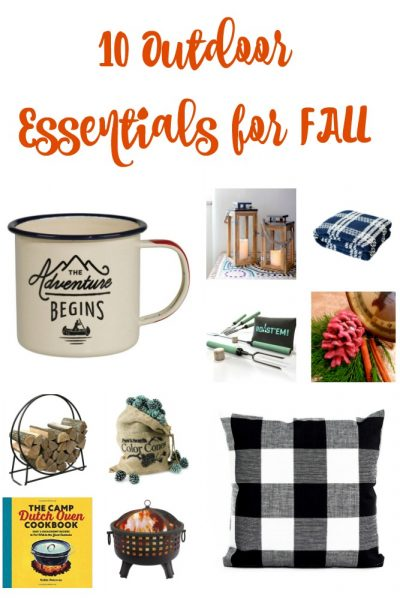 Outdoor Essentials for Fall