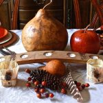 11 DIY Ideas to get your home ready for thanksgiving. casual fall tablescape