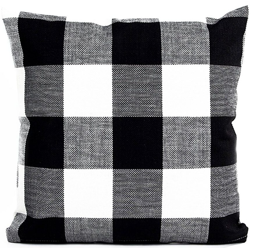 tartan pillow covers