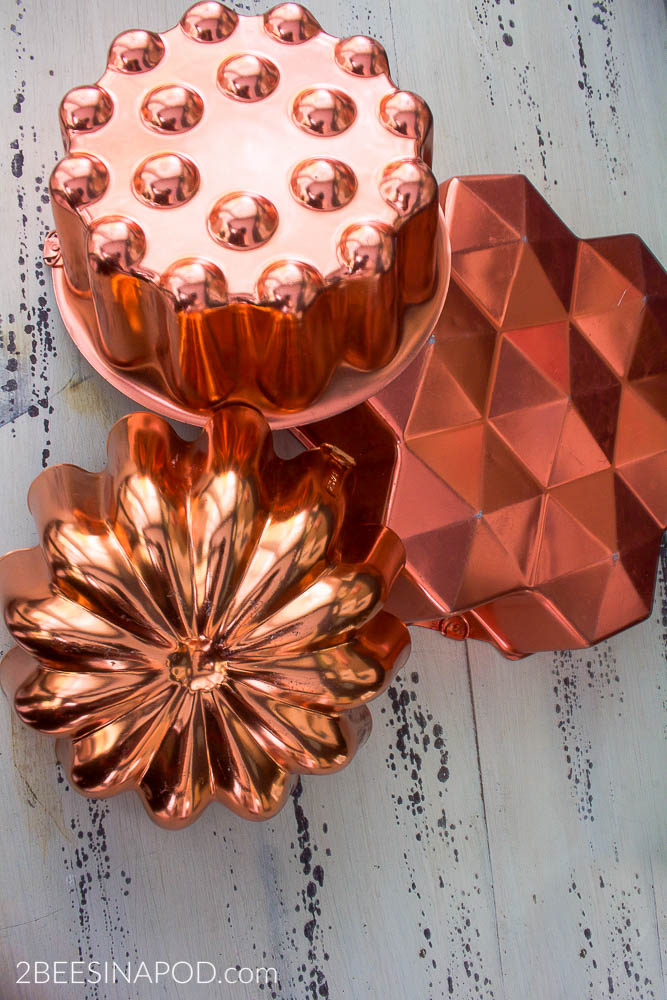 Decorating with Copper Molds - Thrifty Style Team