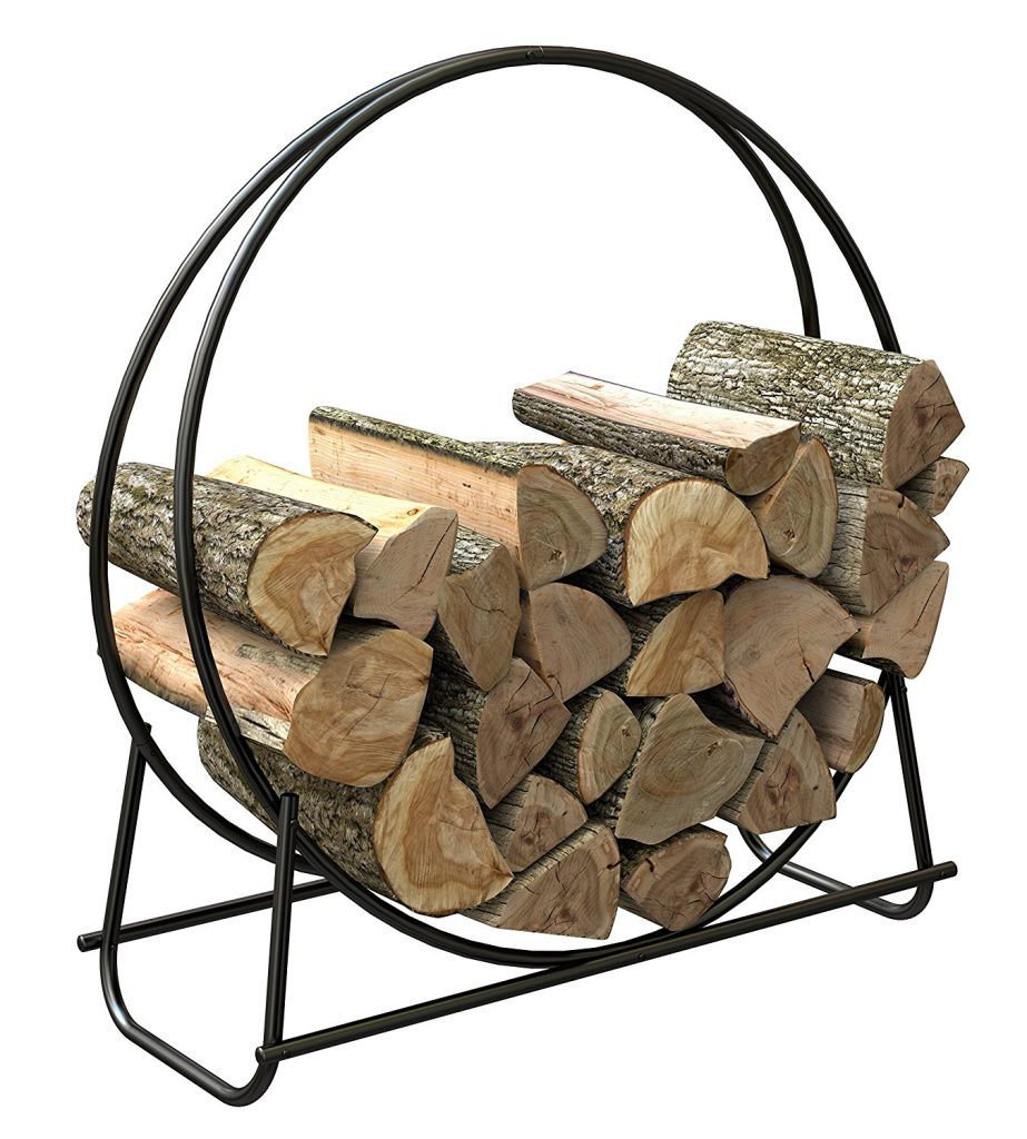 outdoor holder for wood