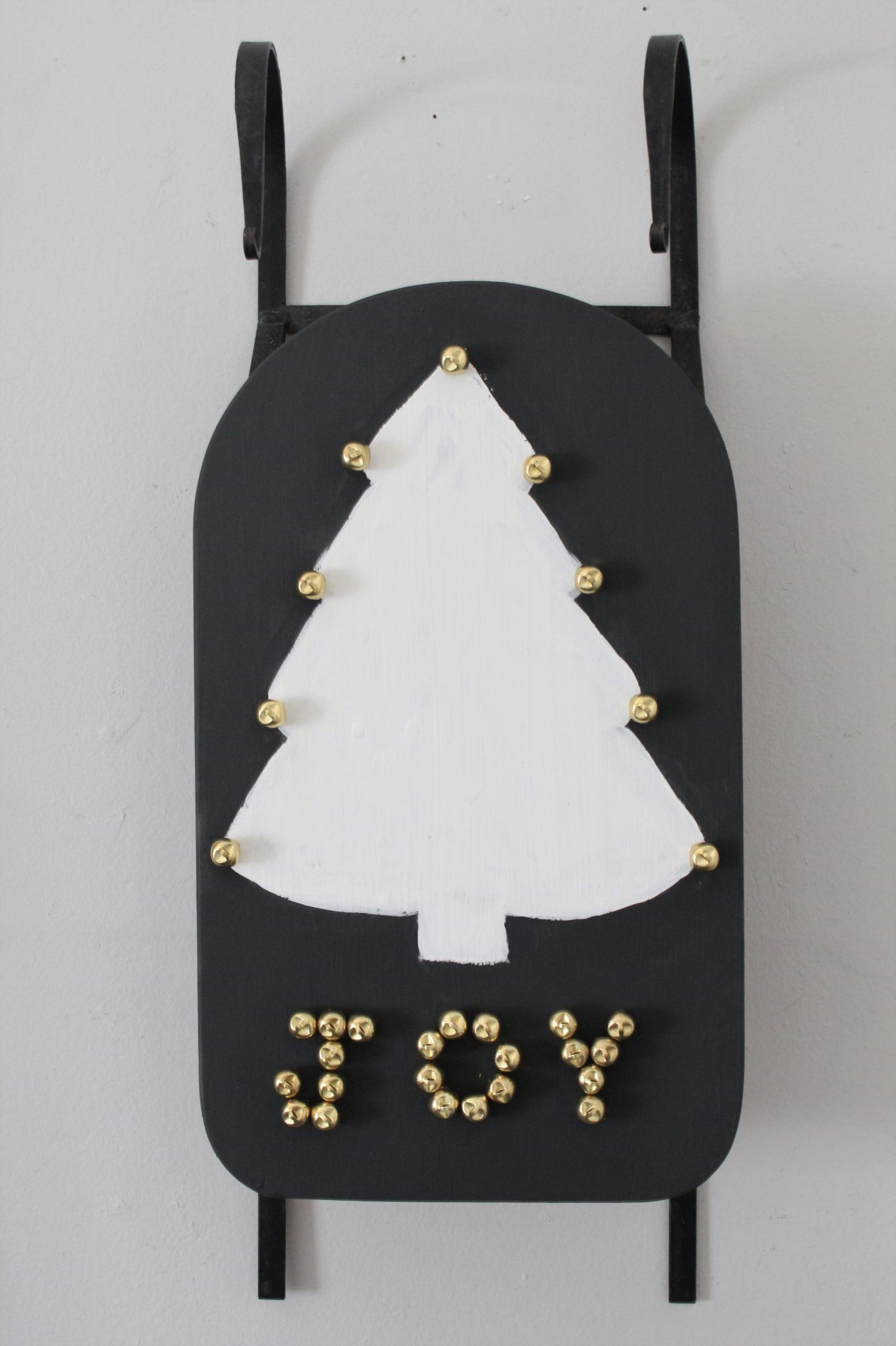 DIY Christmas Tree Sled