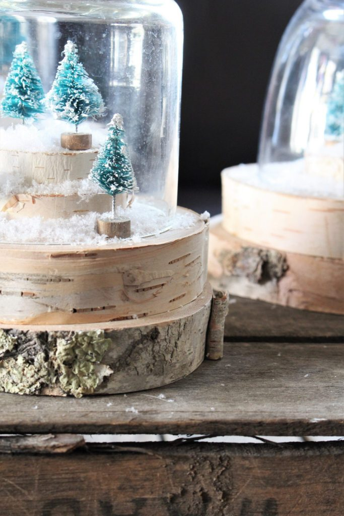 Christmas Tree Coffee Table Vignette