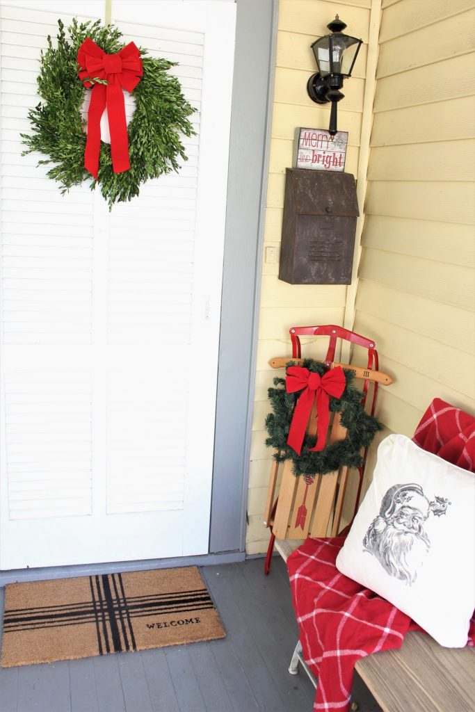 Front Porch for Christmas