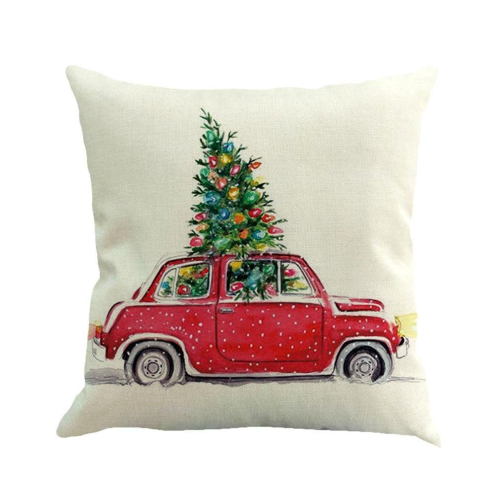 15 Christmas Pillow Covers from Amazon - 2 Bees in a Pod