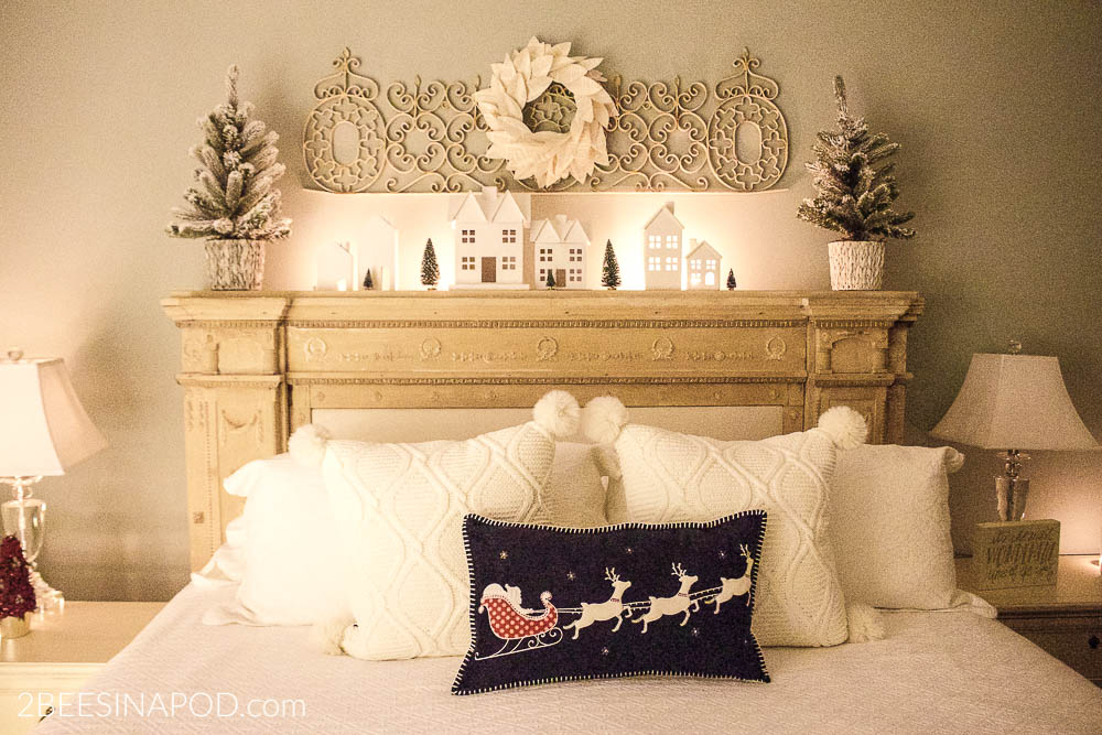 All Is Calm Christmas Bedroom