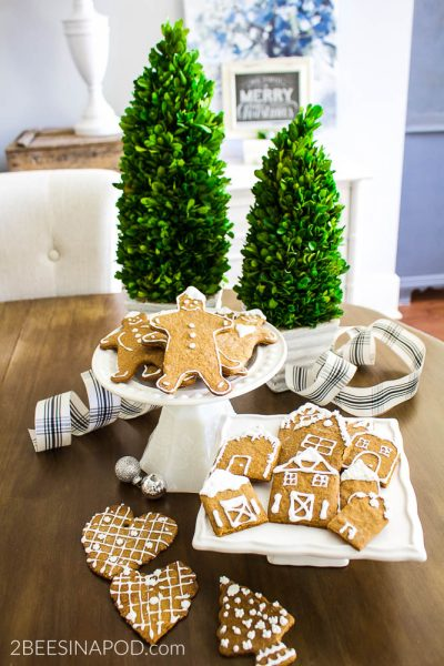 Super Easy Gingerbread Cookies and Tips