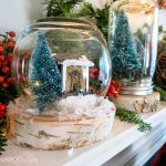 DIY Snow Globe Terrariums