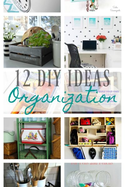 12 Organization Ideas for the New Year – DIY Housewives Series