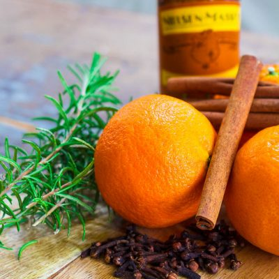 Rosemary and Citrus Orange Spice Simmer Pot – Banish Winter Funk