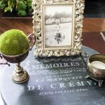 French Lazy Susan Vignette - Coffee Table Display