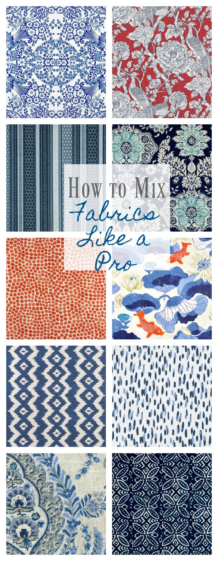 How To Mix Fabric Patterns Like A Pro Back To Basics 2 Bees In A Pod