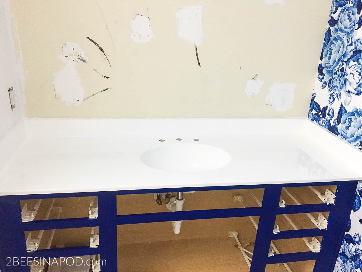 Diy Painted Bathroom Countertop And Sink 2 Bees In A Pod,Anime Girl Wallpaper Hd Black And White