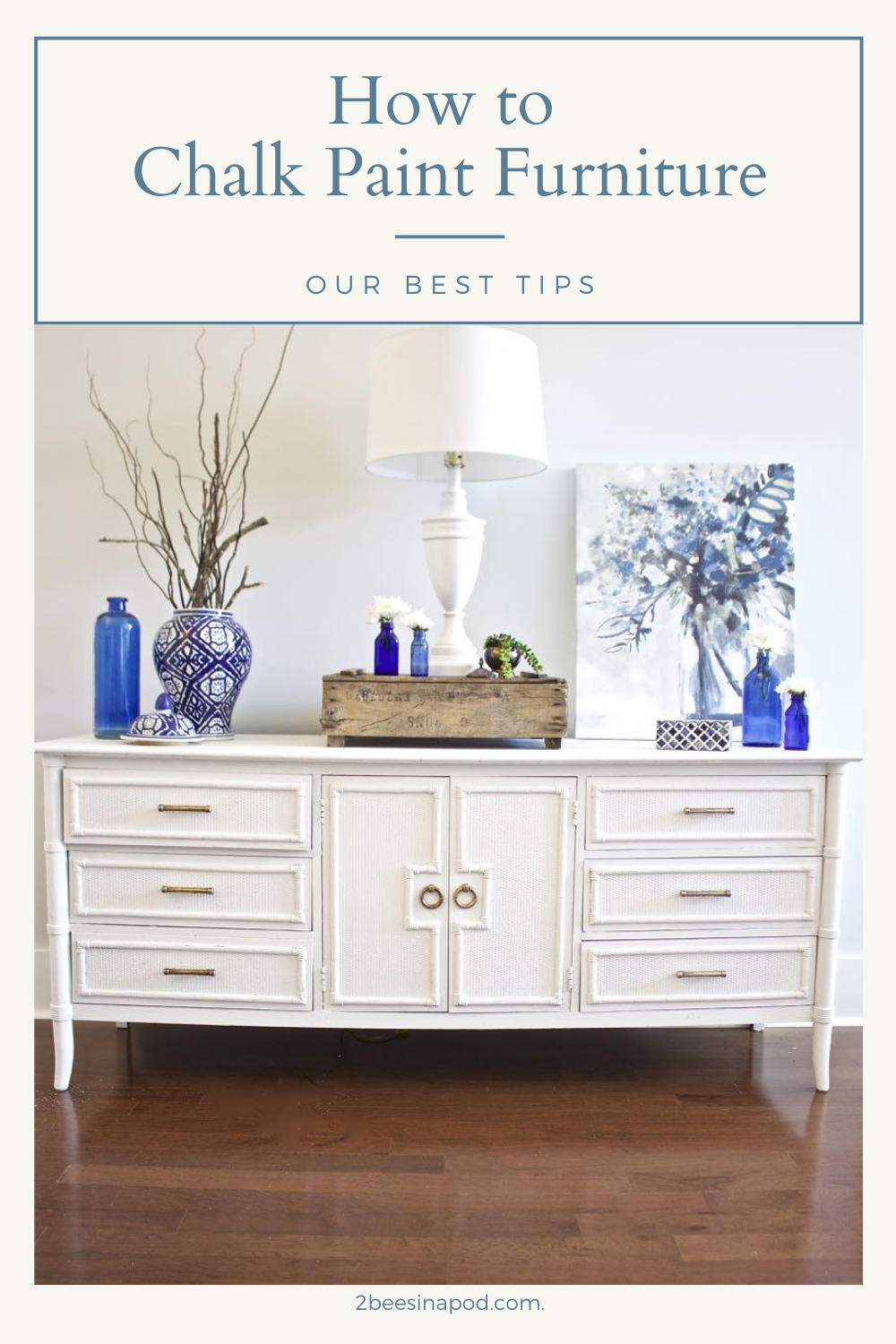 Tips for chalk painting furniture