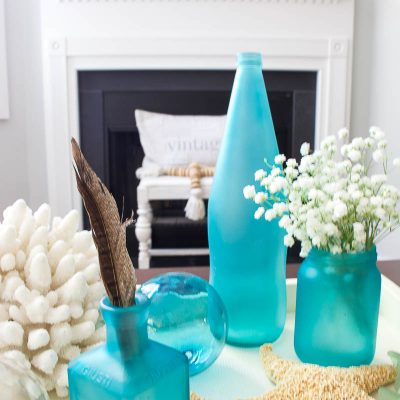 How to Make Sea Glass Bottles – Thrifty Style Team