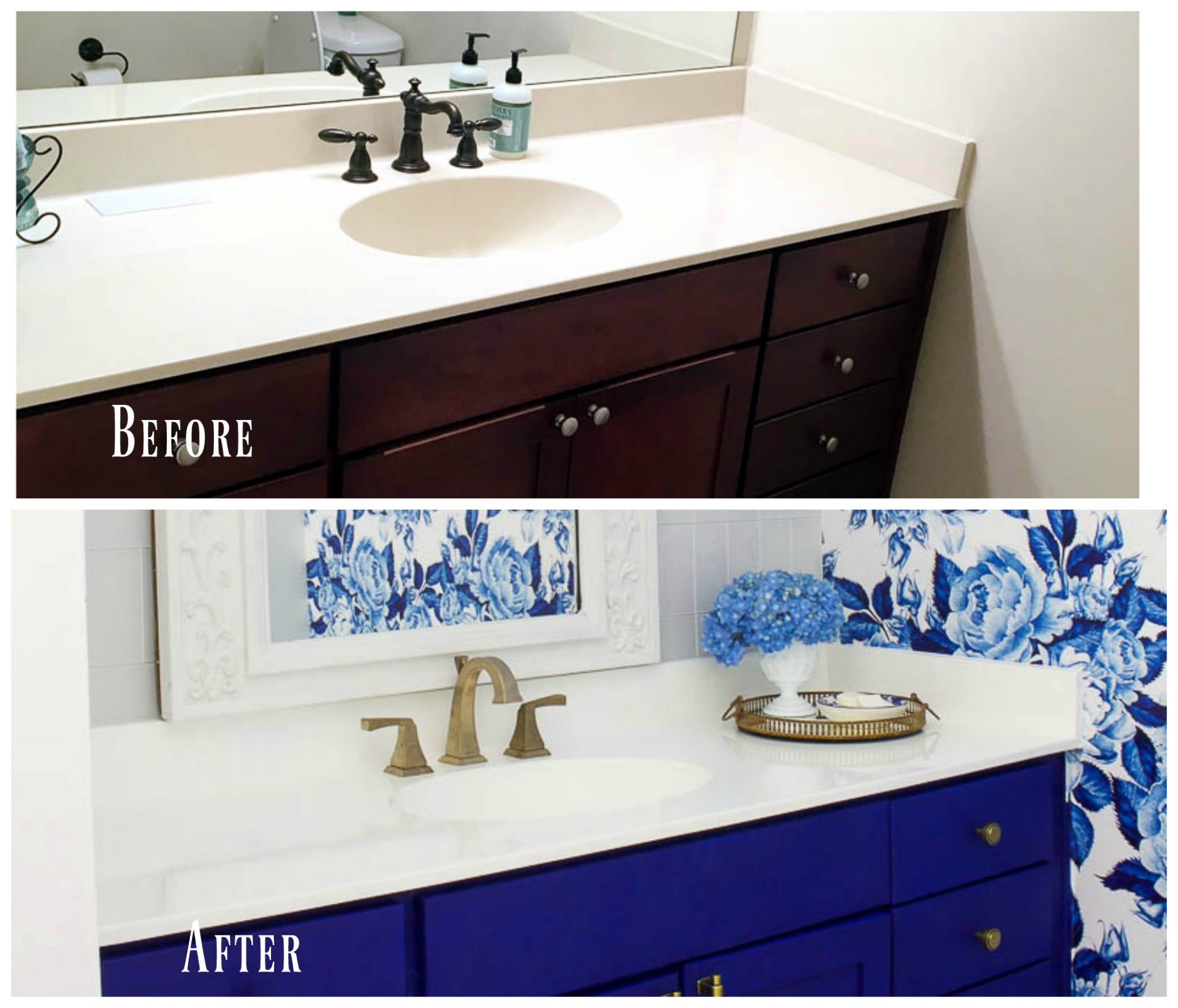 13 Tips For Budget Friendly Bathroom Makeover 2 Bees In A Pod