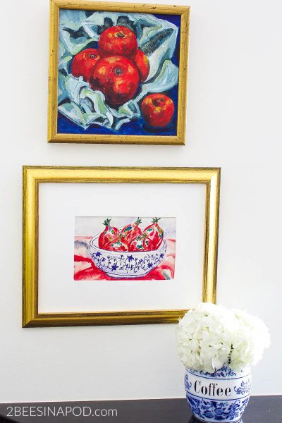 Transform Greeting Cards into Wall Art – Thrifty Style Team
