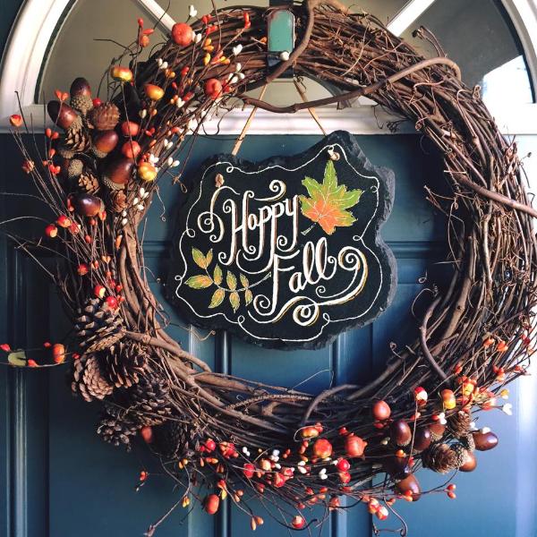 42 DIY Fall Wreath Ideas