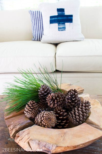 How to Make DIY Scented Pinecones