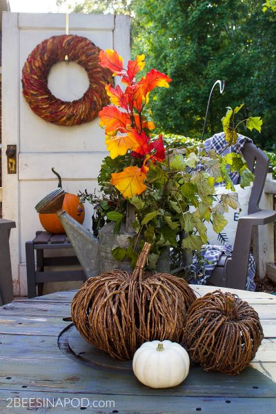 Front Porch Fall Decor – Cozy and Inviting