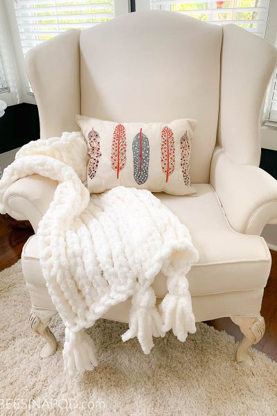 Handmade Chunky Throw – It's a Winner