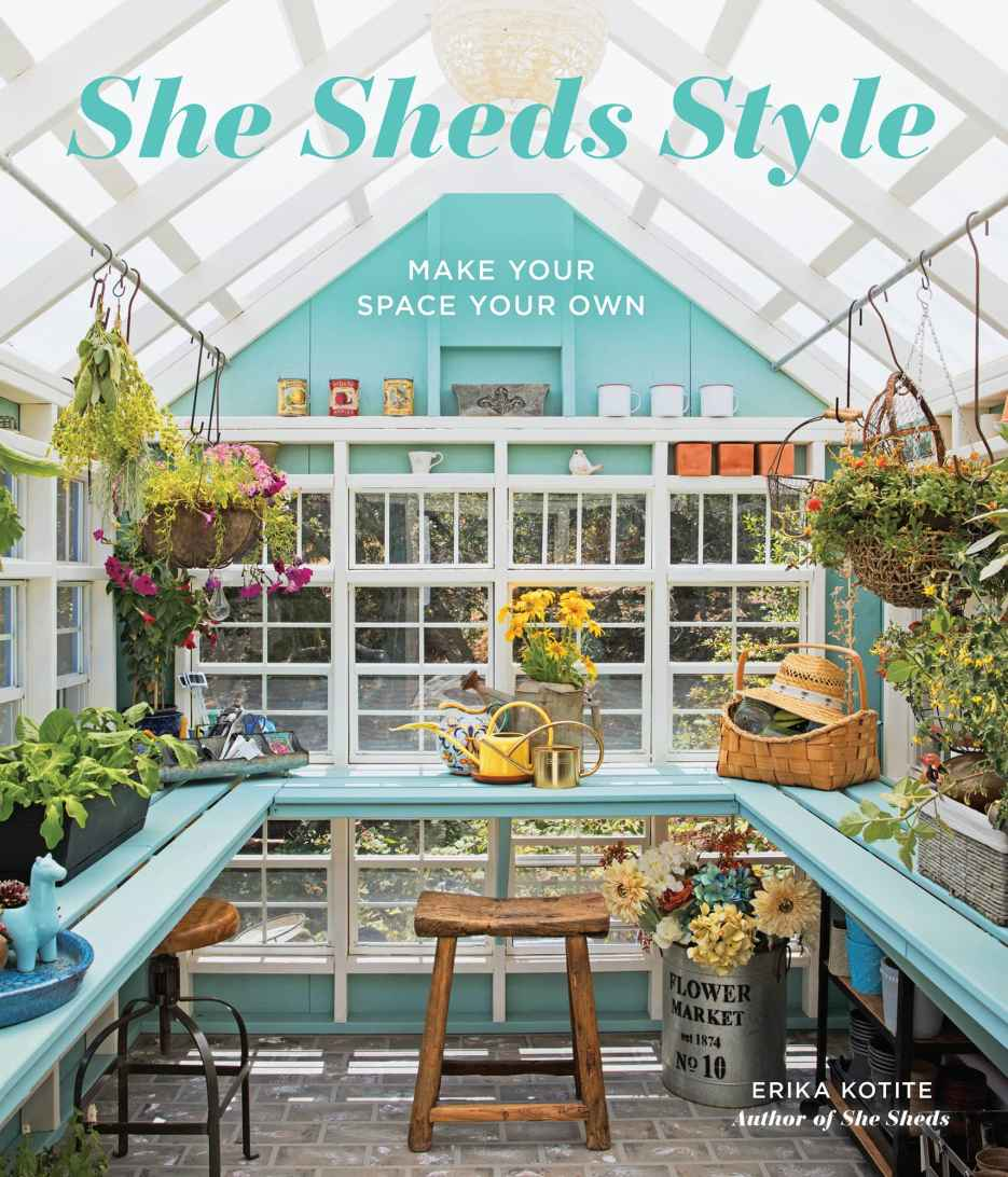 She Sheds Style - We've Been Published in a book about she sheds