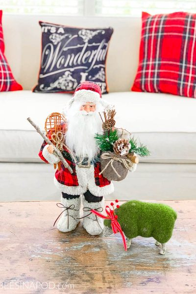 Take a Tour of My Cozy Plaid Christmas Family Room