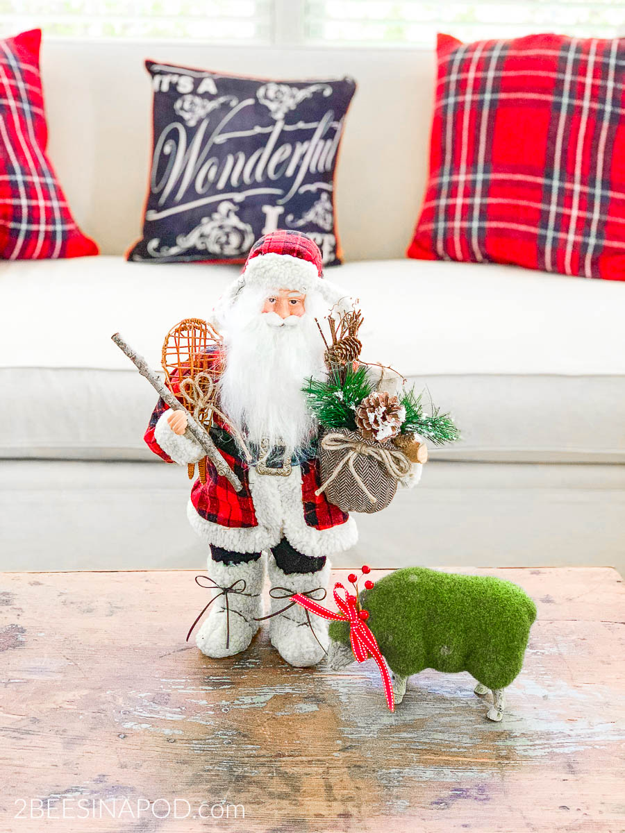 Take a Tour of My Cozy Plaid Christmas Family Room