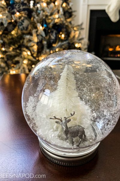DIY Waterless Snowglobes – Thrifty Style Team