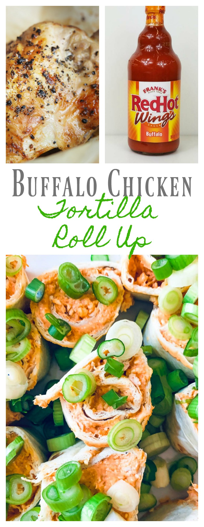 Buffalo Chicken Tortilla Roll Ups-perfect appetizer for a party or super bowl