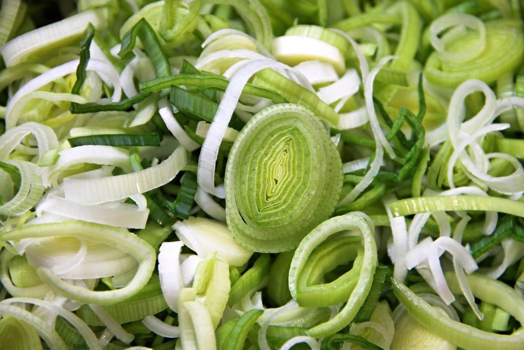 Buffalo Chicken Tortilla Roll Ups-and green onions